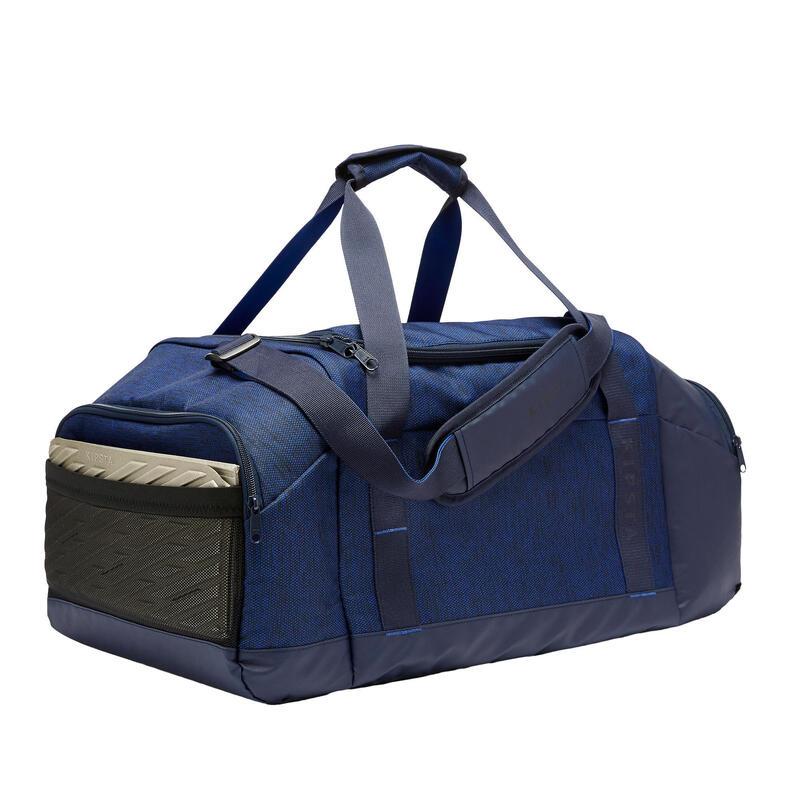 Bolsa de Deporte Kipsta Academique 55 litros azul marino