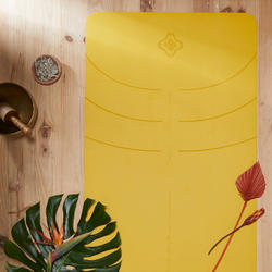 TAPIS YOGA GRIP+ 3 MM JAUNE