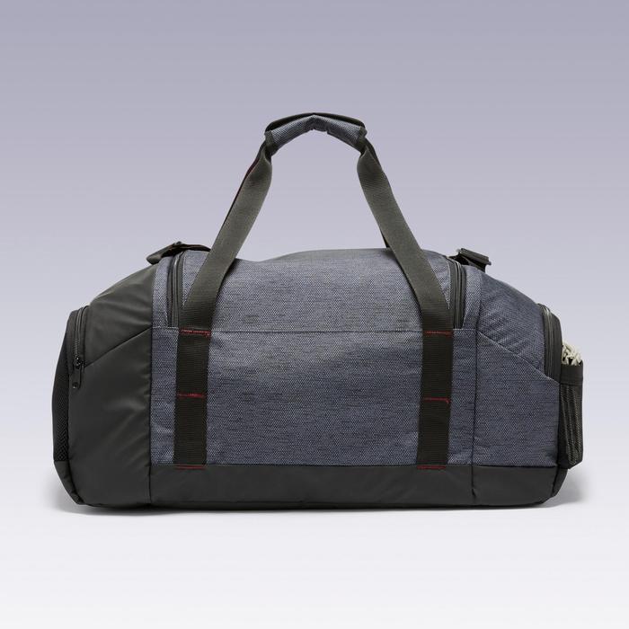 55 L運動包Academic-黑色和酒紅配色