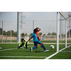 兒童款足球襪F1500 - 靛青色