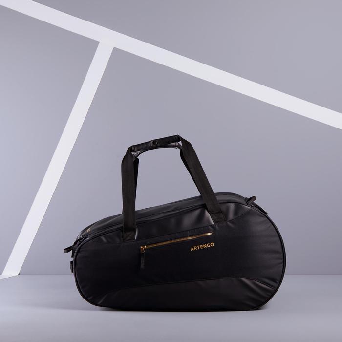 網球拍包500 S-黑色