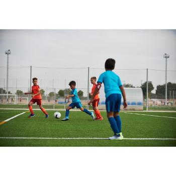 兒童款硬地足球鞋Agility 900 HG - 灰色配藍綠色