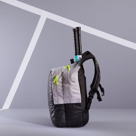 Tennis Bag 500 BP - Black/Light Grey