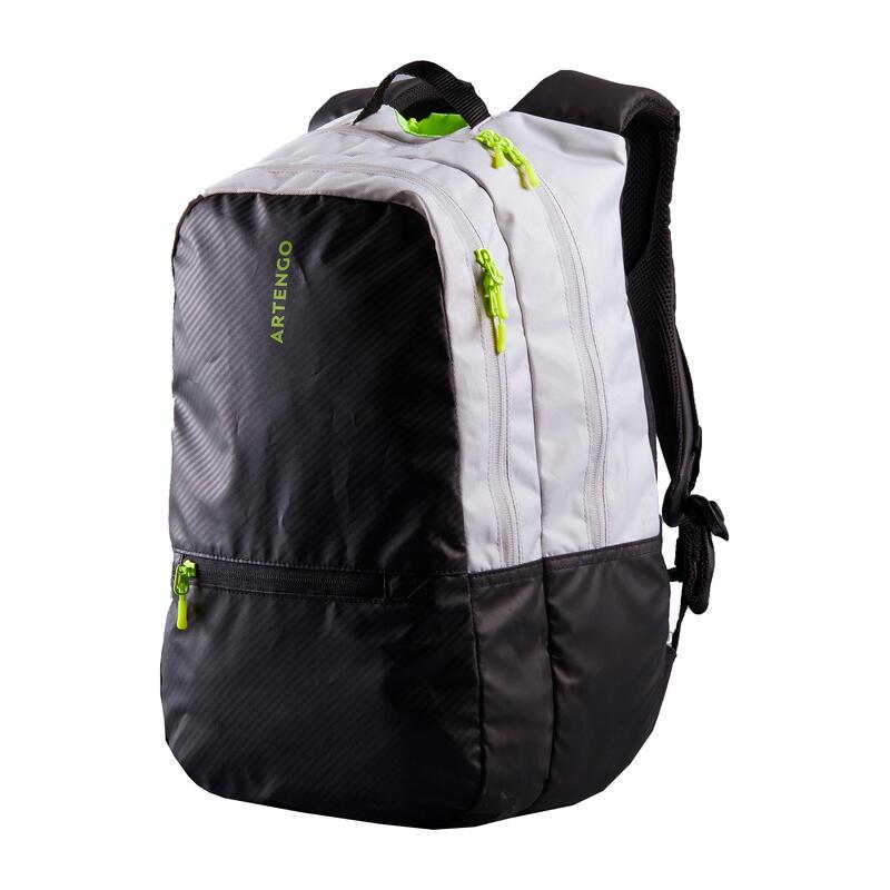 Tenisový batoh 500 BP černo-šedý
