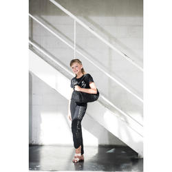 Sporttasche Dance Mädchen schwarz mit Glitzer