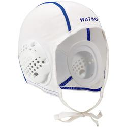 Bonnet water polo 500 adulte blanc