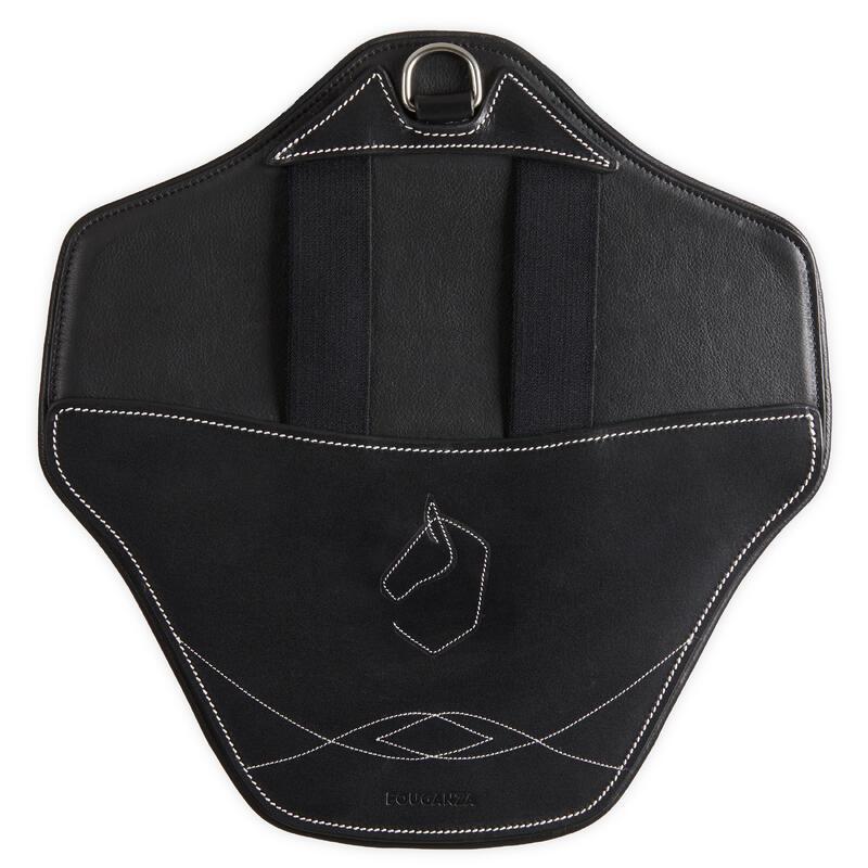 Bavette amovible 500 noir taille cheval