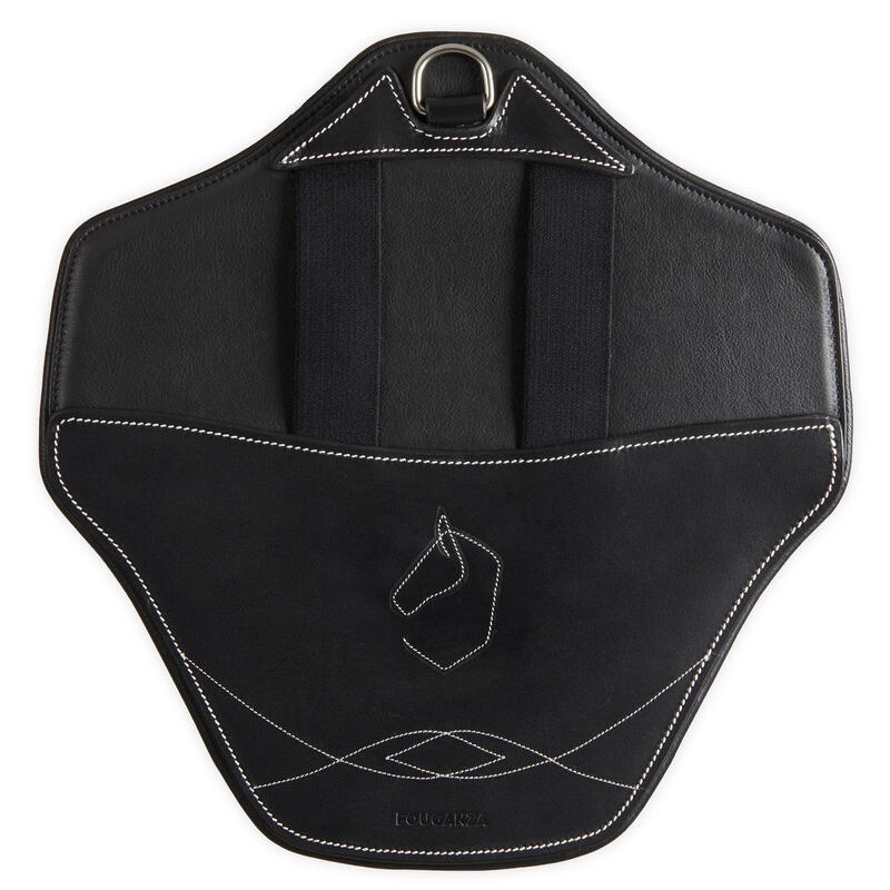 Removable Bib for Horses 500 - Black