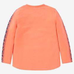 Shirt met lange mouwen voor kleutergym 100 oranje