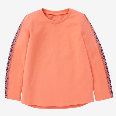 100 Long-Sleeve Toddlers Gym T-Shirt