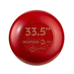 Batte de Baseball En Érable BA580 - Noir/Rouge