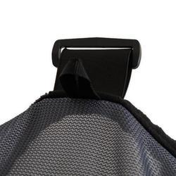 Vliegenmasker voor paarden ruitersport 500 grijs