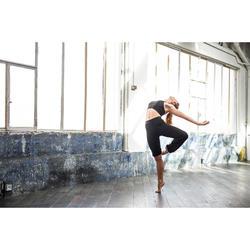 Verstelbare damesbroek voor moderne dans zwart