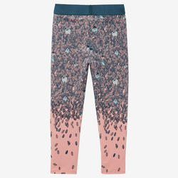 Legging 100 Baby Gym fille Rose AOP