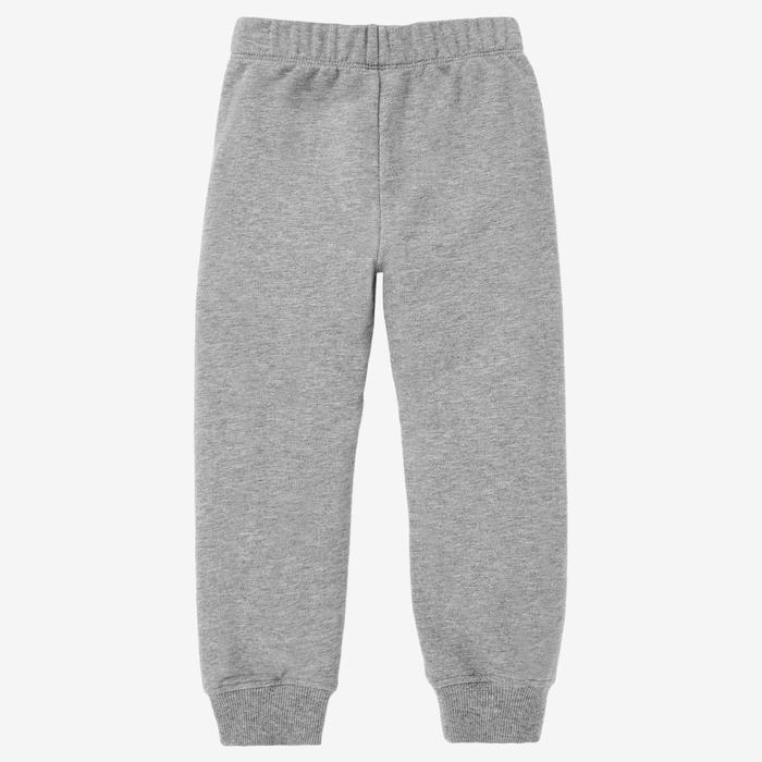 Pantalon 100 Baby Gym fille et garçon Gris clair
