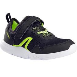 Kinderschoen om te wandelen Actiwalk Super-light zwart / groen