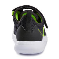 Tenis Caminar Actiwalk Super-light Niño Negro/Verde