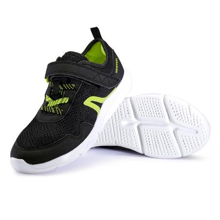 Chaussure marche enfant Actiwalk Super-light noir / vert
