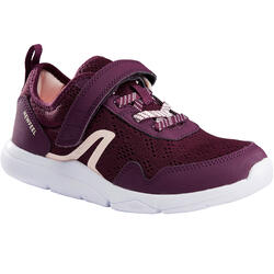 Calçado de caminhada de criança Actiwalk Super-light violeta/rosa