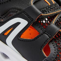 Calçado de caminhada Criança PW 500 Fresh preto/laranja