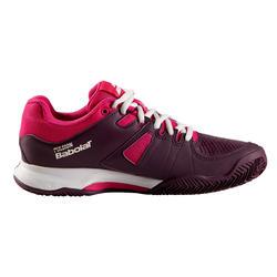 Tennisschoenen voor dames Babolat Pulsion gravel/kunstgras