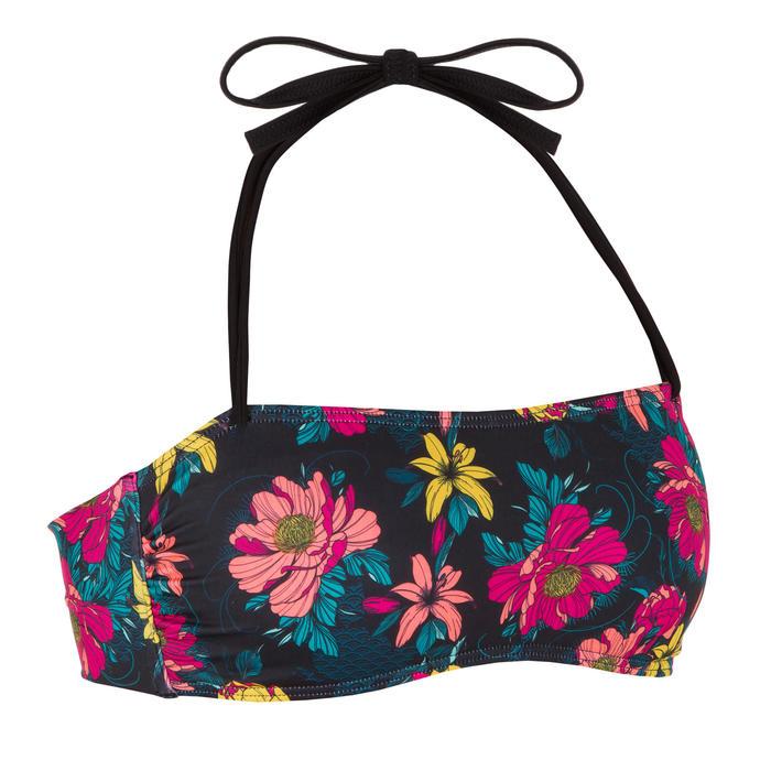 Bandeau bikini top voor dames Laura Tomei met uitneembare pads
