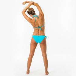 Bikinibroekje met striksluiting dames SOFY TURQUOISE