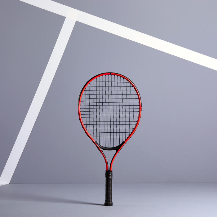 Tennisset voor kinderen Duo 2 rackets 2 ballen 1 hoes
