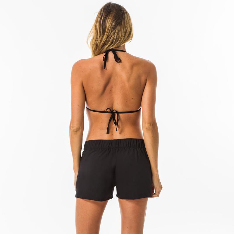 กางเกงชายหาดสำหรับผู้หญิงรุ่น Tana (สีดำ)