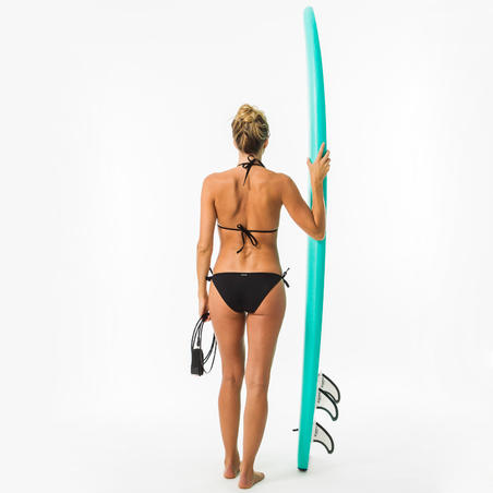 Panty Bikini Surf Olaian Lazos Sofy Negra Mujer
