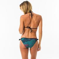 Top de Bikini Mae Jiu Mujer Triángulos Corredizos Copas Desmontables