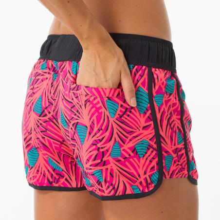 Celana selancar wanita dengan pinggang elastis dan tali serut TINI HOSU