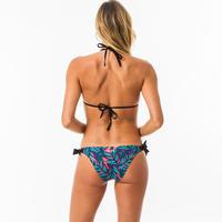 Brassier-top de bikini Mae Waku Mujer Triangular Corredizos Copas Desmontables