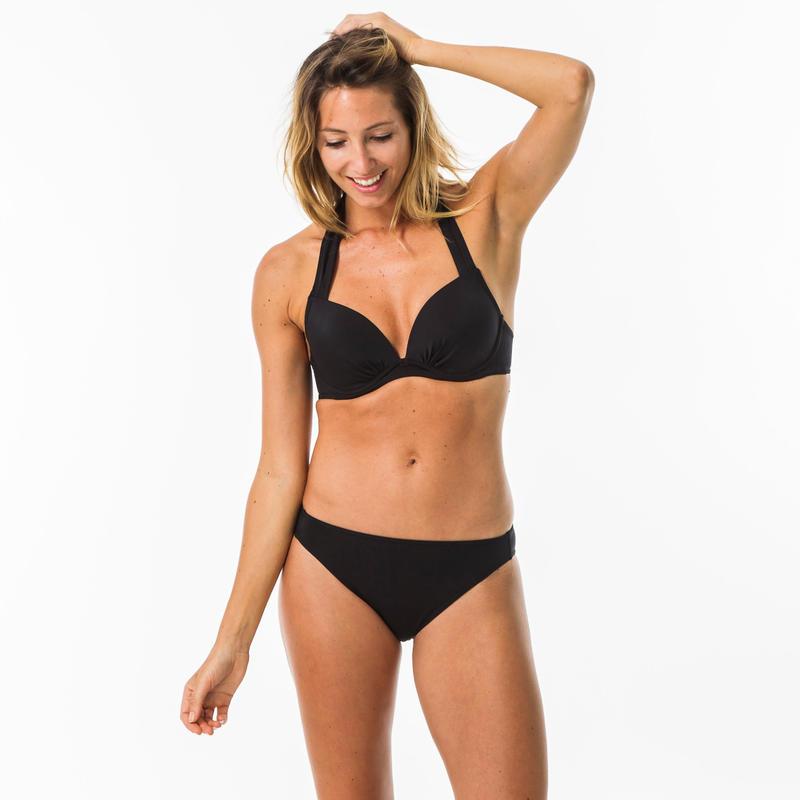 Women's Surf Swimsuit Bottom - Nina Black
