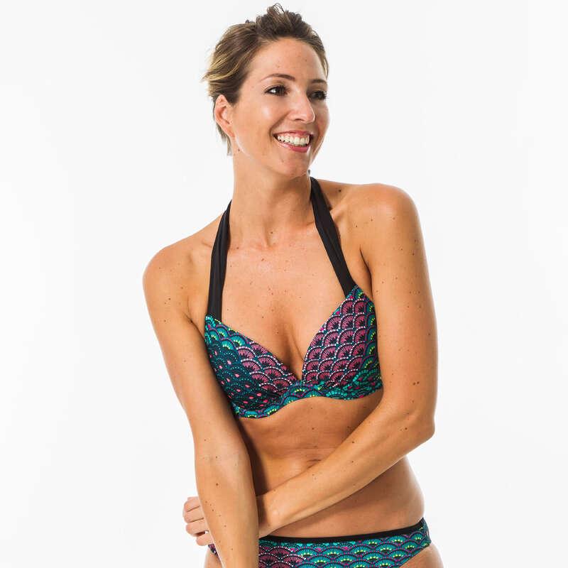 Női fürdőruha alkalmi szörfözéshez Strand, szörf, sárkány - Női bikinifelső Elena Jiu  OLAIAN - Bikini, boardshort, papucs