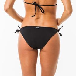 Dames bikin broekje met striksluiting opzij Sofy zwart