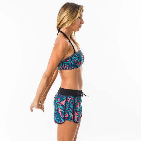 Celana selancar wanita dengan pinggang elastis dan tali serut TINI WAKU