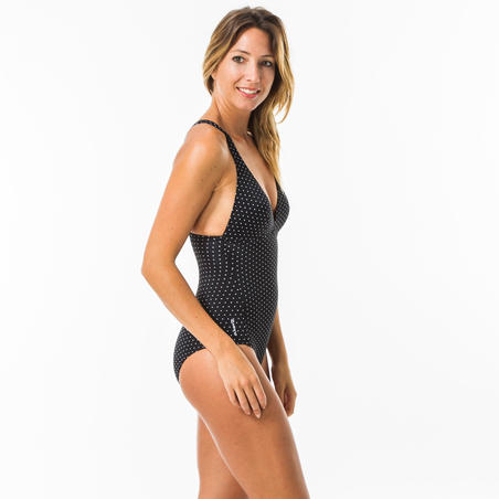DARIA 1-PIECE SWIMSUIT WITH REMOVABLE PADDED CUPS - PUKA-WOMEN'S