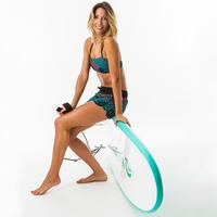 Boardshort Surf Tini Jiu Mujer Cintura Elástica + Cordón Ajuste
