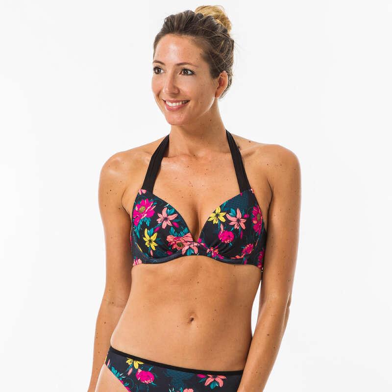 Női fürdőruha alkalmi szörfözéshez Strand, szörf, sárkány - Női bikinifelső Elena Tomei OLAIAN - Bikini, boardshort, papucs