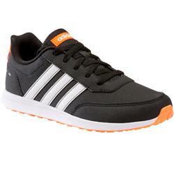 Kindersneakers voor wandelen Adidas Switch zwart veters