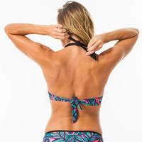 Haut de maillot de bain femme push up avec coques fixes ELENA WAKU