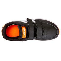 Kindersneakers voor wandelen Adidas Switch zwart klittenband