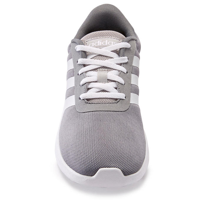 Kindersneakers voor wandelen Adidas Lite Racer grijs