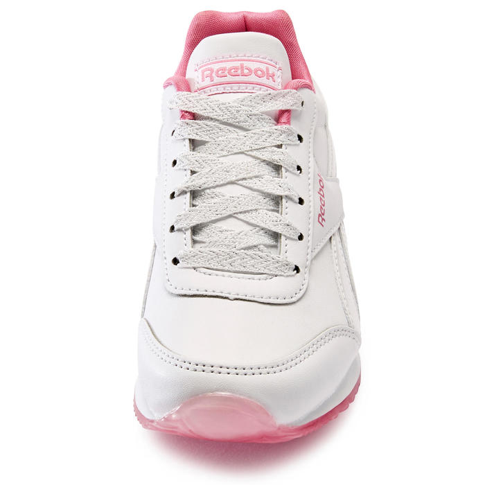 Kindersneakers voor wandelen Reebok Royal roze veters