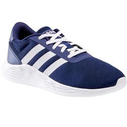 Kindersneakers voor wandelen Adidas Lite Racer blauw