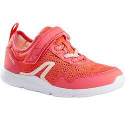 Calçado caminhada criança Actiwalk Super-light rosa