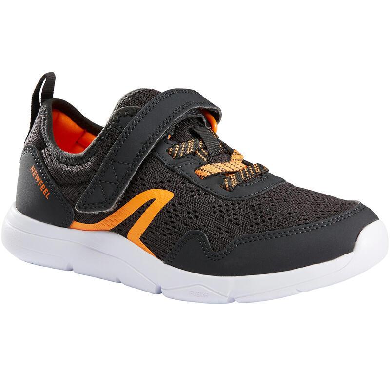 Chaussure marche enfant Actiwalk Super-light gris / orange