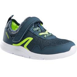 Kinderschoen om te wandelen Actiwalk Super-light grijs / groen