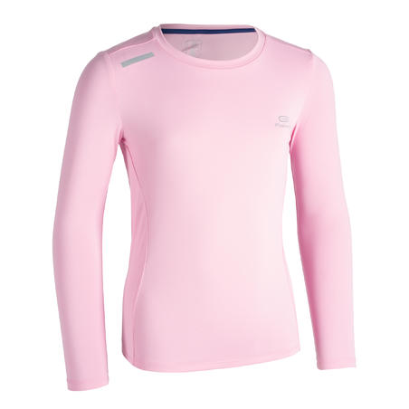AT 100 UV PROTECT LONG-SLEEVED T-SHIRT - PINK